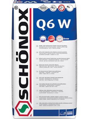 Schönox Weißer Q6 W 42 x 25kg Sack  Versandkostenfrei
