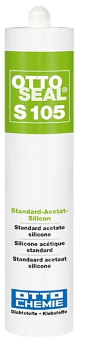 Ottoseal S105 Das alternative Sanitär Silicon Kartusche 310ml