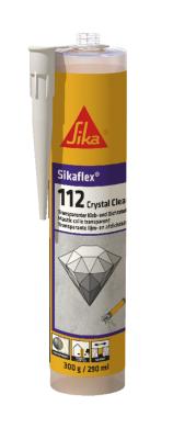 Sikaflex 112 Crystal Clear Karton 12 x 290ml Kartuschen