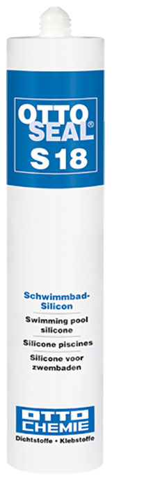 Ottoseal S18 Das Schwimmbad-Silicon Kartusche 310ml