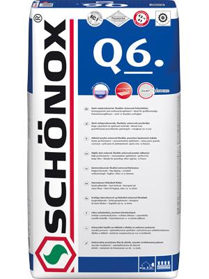 Schönox Q6 42 x 25kg Sack  Versandkostenfrei