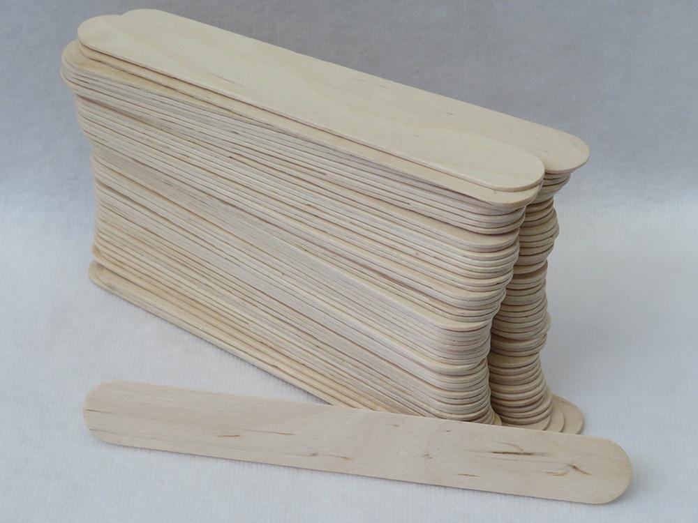Abziehholz 150x20x2mm 100Stück Holzmundspatel