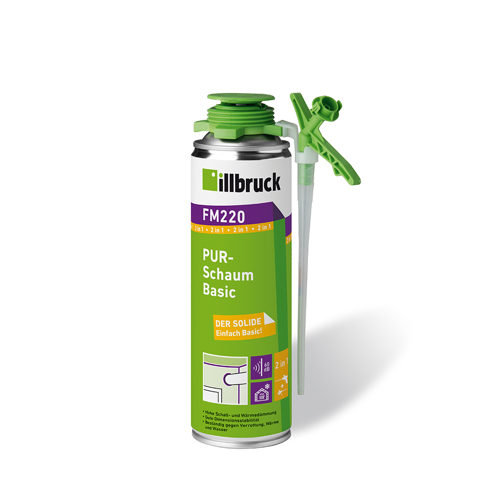 Illbruck FM220 PUR-Schaum Basic 500ml