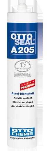 Ottoseal A205 Der Premium Acryl Dichtstoff Kartusche 310ml