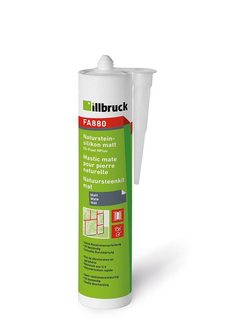 Illbruck FA880 Natursteinsilikon MATT Kartusche 310ml EICHE