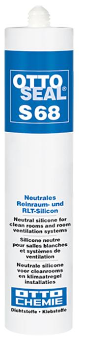 Ottoseal S68 Das neutrale Reinraum- und RLT-Silicon Kartusche 310ml