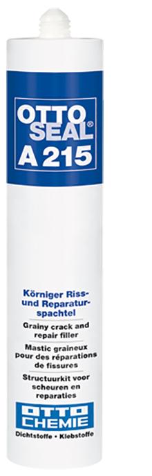 Ottoseal A215 Der Körnige Riss und Reparaturspachtel Kartusche 310ml