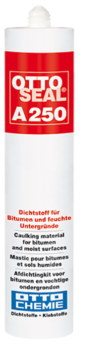 Ottoseal A250 Der Dichtstoff Sperre für Bitumen und Feucht Untergründe Kartusche 310ml