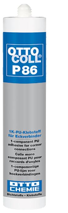 Ottocoll P86 Der 1K-PU-Klebstoff für Eckverbinder Kartusche 310ml
