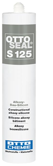 Ottoseal S125 Das Alkoxy-Bau-Silicon Kartusche 310ml
