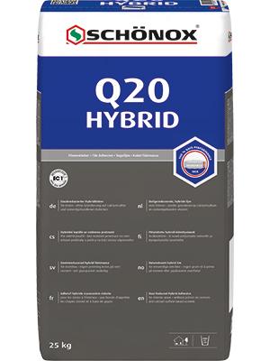 Schönox Q20 Hybrid 42 x 25kg Sack  Versandkostenfrei