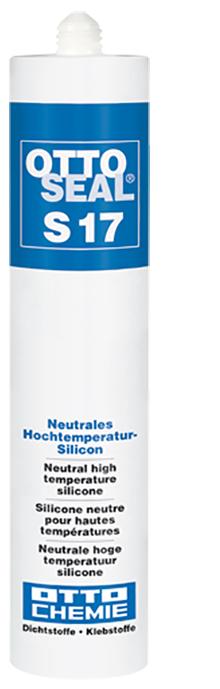 Ottoseal S17 Das neutrale Hochtemperatur-Silicon Kartusche 310ml