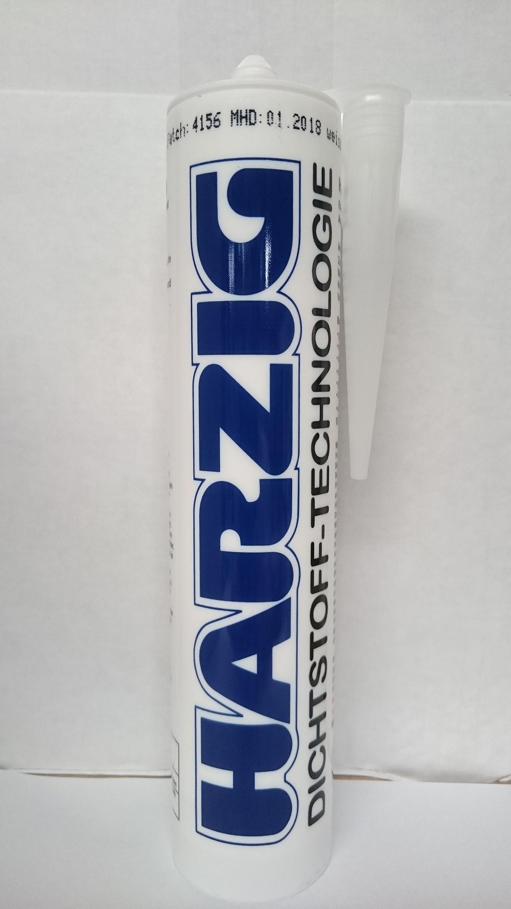 Harzig Standard Acryl Kartusche 310ml HSA310 reinweiss