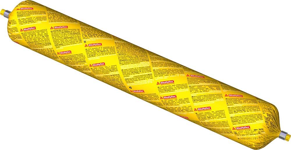 Sikaflex Construction+ Das Anschlussfugen PU Folienbeutel 600ml Farbe Betongrau