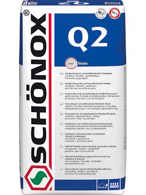 Schönox Q2 57 x 25kg Sack Versandkostenfrei