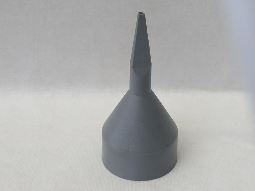 Düse für Mörtelspritze grau fein