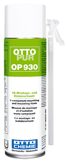 Ottopur 930 Der 1K-Montage- und Dämmschaum 500ml