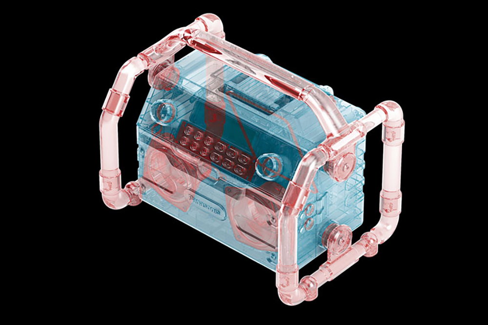 Panasonic Tragbares Radio-/Lautsprecher-System EY37A2B