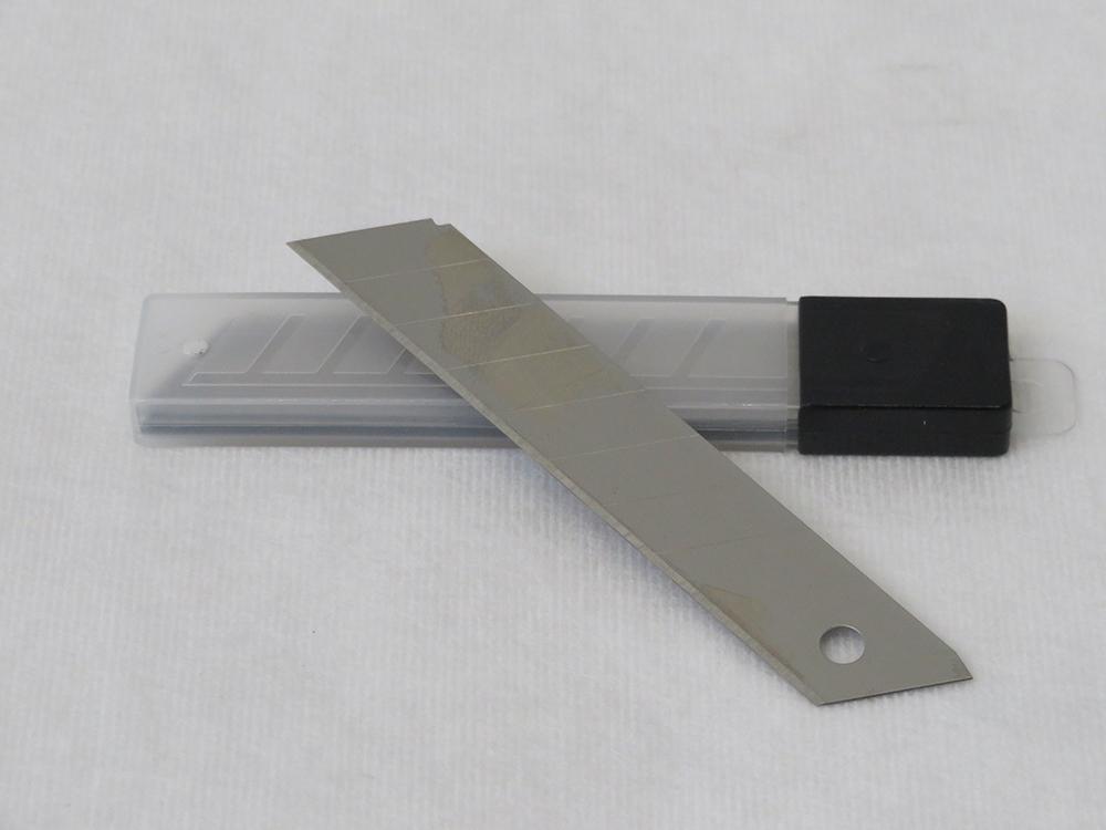 Ersatzklingen 18mm für Cutter Messer Standard Qualität Box 10Stück