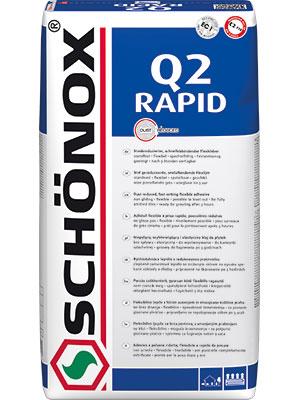 Schönox Q2 Rapid 42 x 25kg Sack Versandkostenfrei