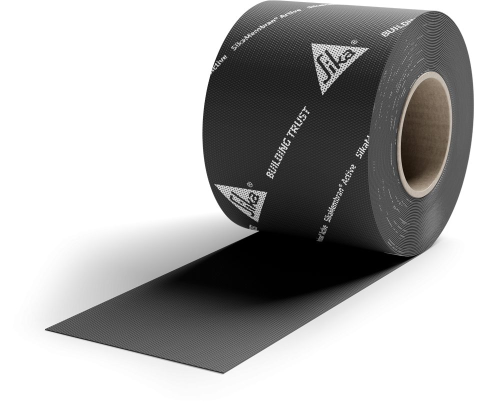 SikaMembran Active (Basisfolie) Rolle 150mm x 25m